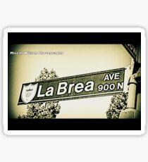 900 N. La Brea Avenue, Inglewood, CA by Mistah Wilson Photography Sticker