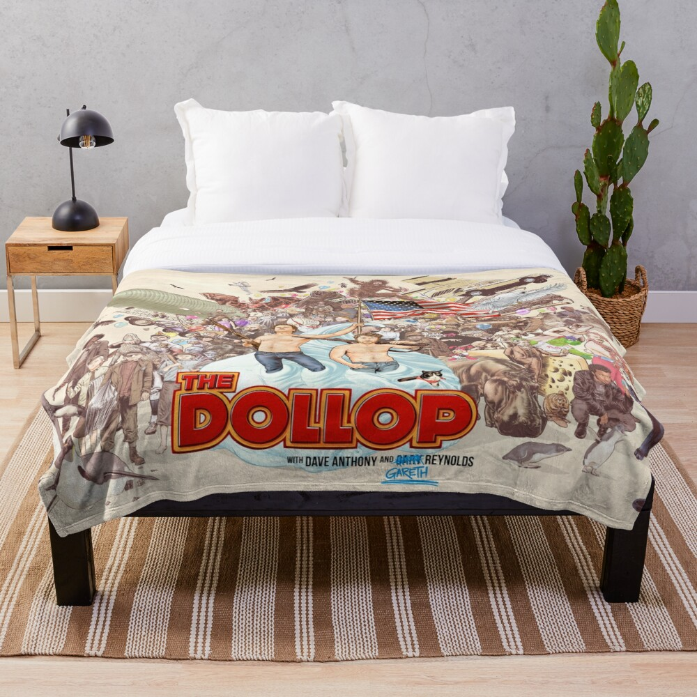 The Dollop 2018  Throw Blanket