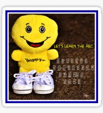 Let's Learn The ABC Ed 5 Sticker