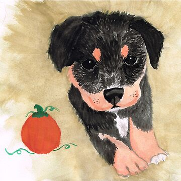 Autumn Rottweiler  by MARILOLA126