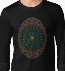 Mandala la la v Long Sleeve T-Shirt
