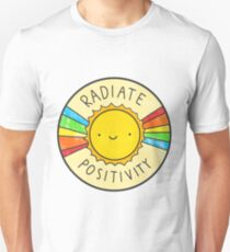 Radiate Positivity Unisex T-Shirt