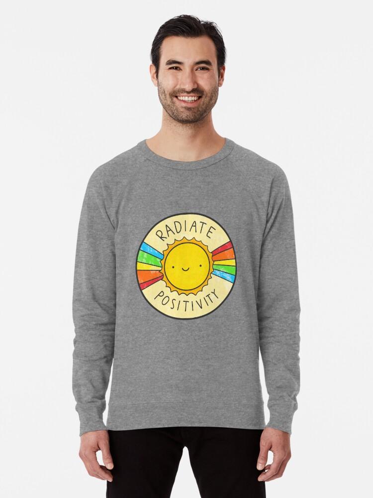 Alternate view of Radiate Positivity Lightweight Sweatshirt
