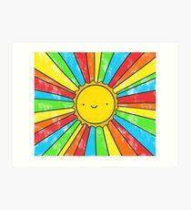 Radiate Positivity Art Print