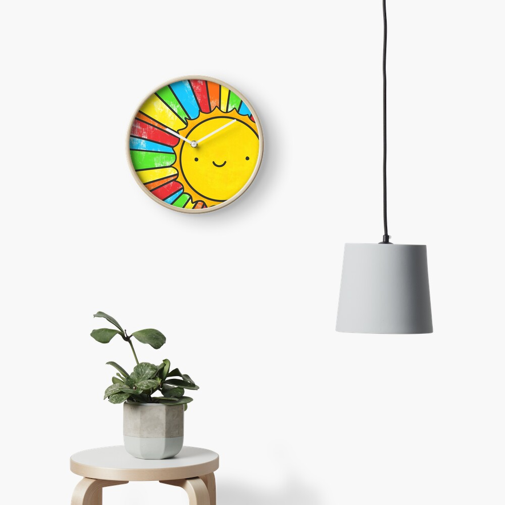 Radiate Positivity Clock