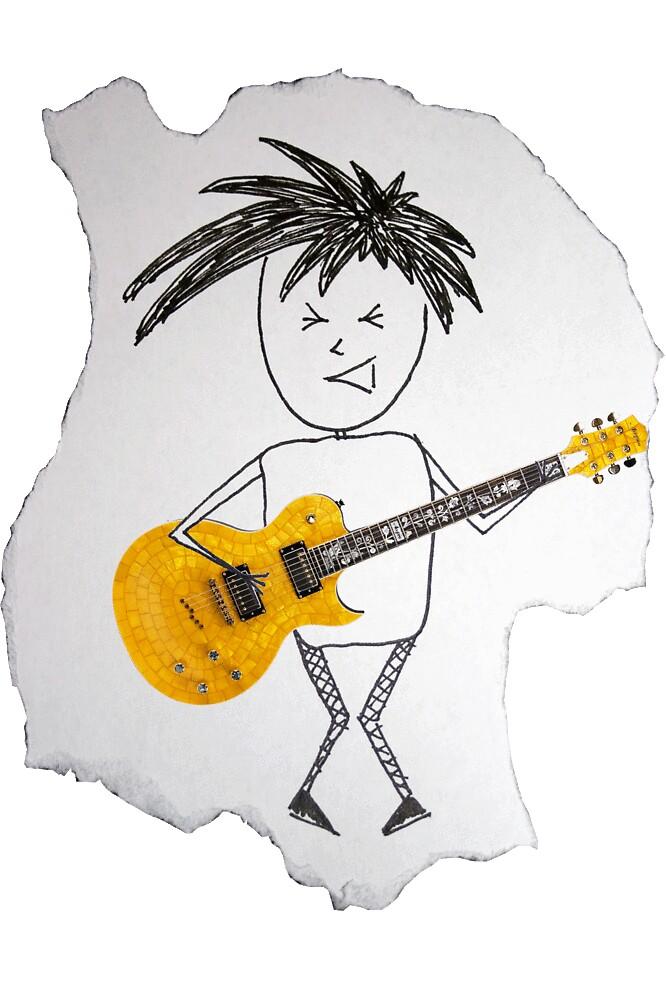 Live life like a rockstar by Mloes
