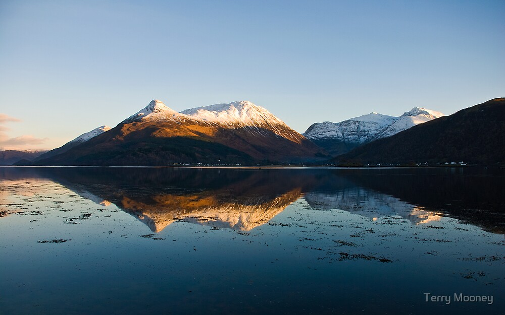 Glencoe and Loch Leven by Terry Mooney