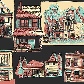 Houses by celerywoulise