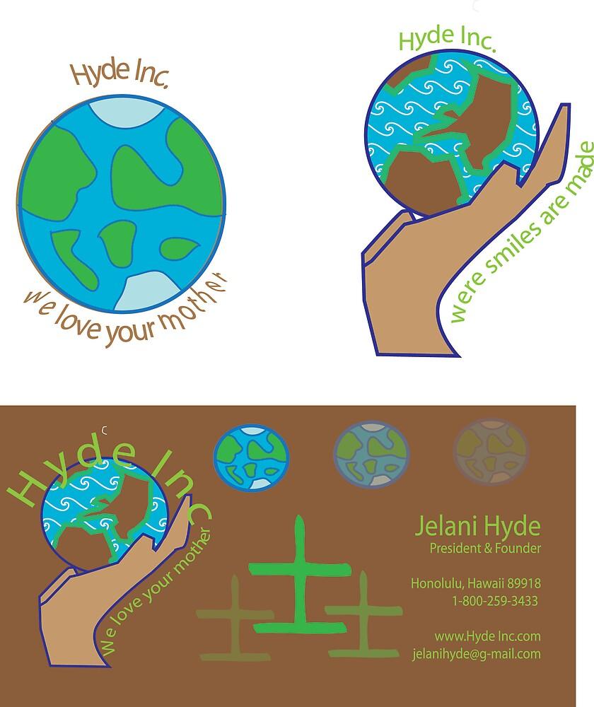 Hyde Inc Logo by Jelani Hyde