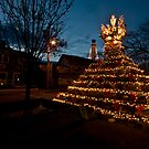 Provincetown Lobsterpot Christmas Tree by Alyeska