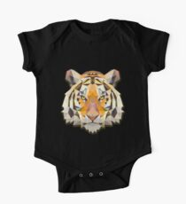 Cool Colorful Tiger One Piece - Short Sleeve