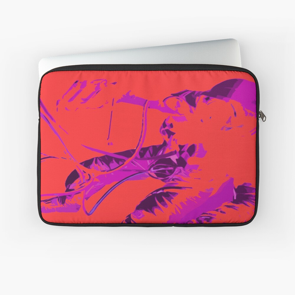 Space Series : Gemini EVA 1 Abstract Red [#2] Laptop Sleeve