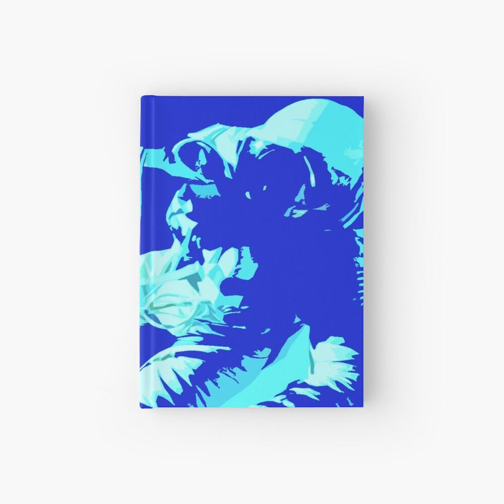 Space Series : Gemini EVA 1 Abstract Indigo[#2] Hardcover Journal