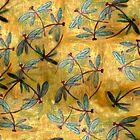 Dragonfly Haze Cloud by lyndseyart
