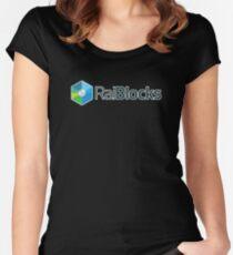 RaiBlocks XRB Women's Fitted Scoop T-Shirt