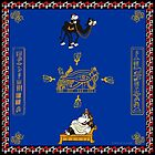 Horus Hippo - Egypt Scarf by Stayf