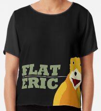 Flat Eric  Chiffon Top