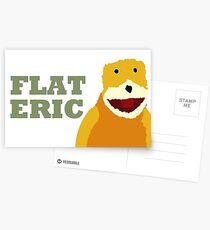 Flat Eric  Postcards