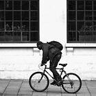 Pavement Cyclist  by Glen Allen