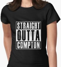 Straight Outta Compton Women's Fitted T-Shirt