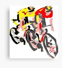 Cycling Canvas Print