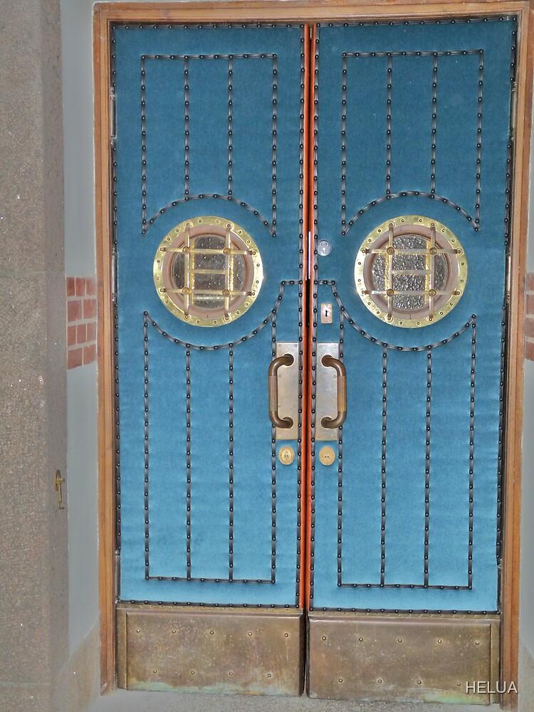 Blue Doors by HELUA
