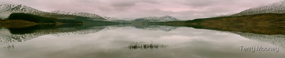 Loch Tulla panorama by Terry Mooney