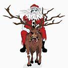 Santa white walker by JakeCox