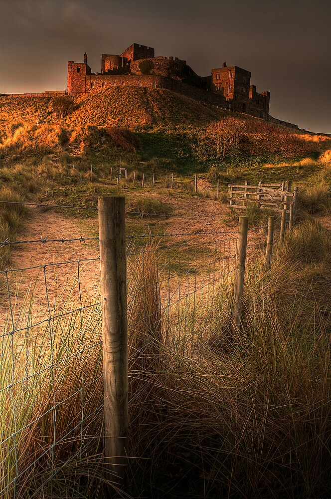 BAMBURGH CASTLE by STEVE  BOOTE