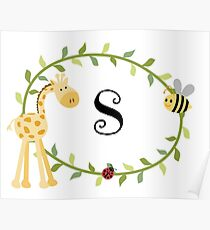 Nursery Letters S Poster