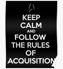Rules of Acquisition 2 Poster