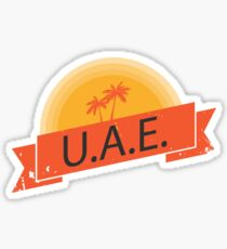 United Arab Emarites Sticker