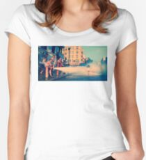 Caliente Women's Fitted Scoop T-Shirt