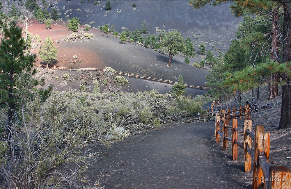 Sunset Crater by R Hawkins