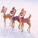 Snow bambis by Zoe Power