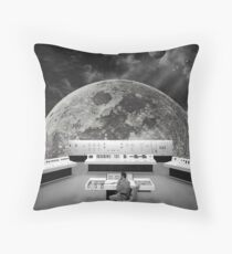 Calling for Help Throw Pillow