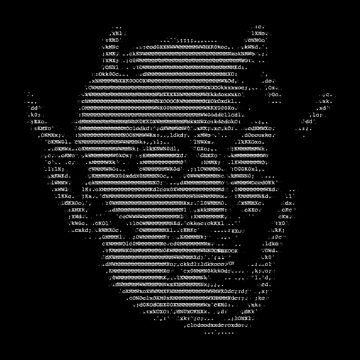 ASCII Demon by bilmaw