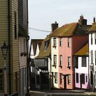 Houses, All Saints Street, Old Hastings by wiggyofipswich