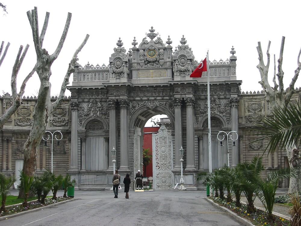 The palace gates by mypics4u