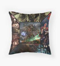 Warhammer - Chaos Throw Pillow