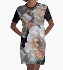 Julia's Rose Graphic T-Shirt Dress