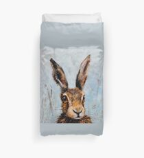 Holly Hare Duvet Cover