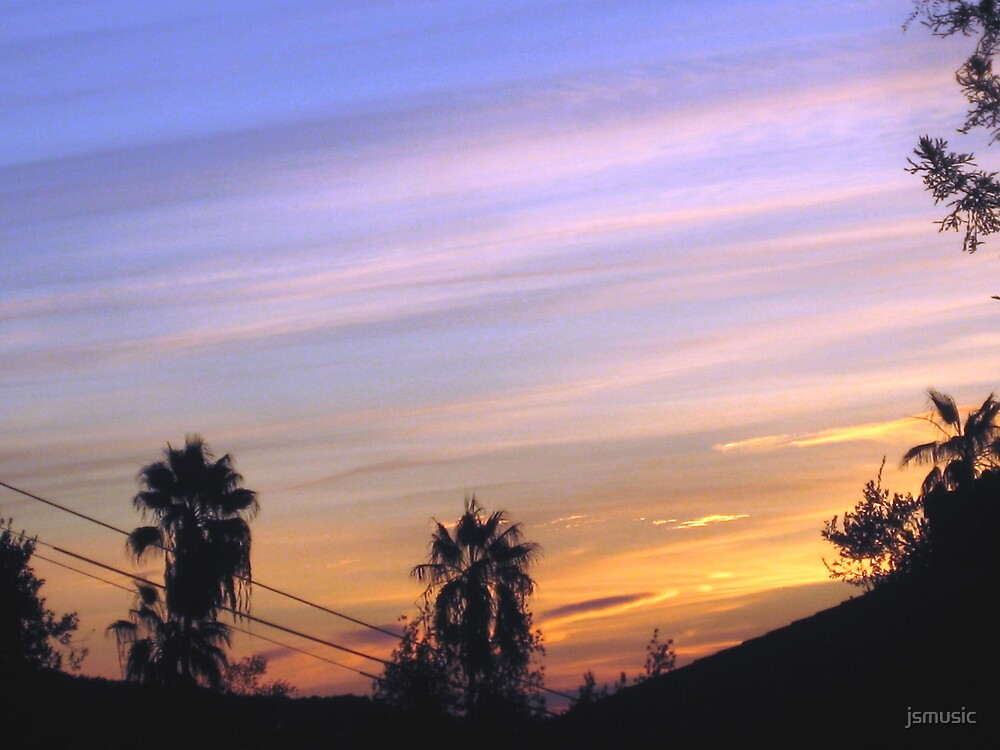 Sierra Madre Sunset by jsmusic