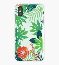 Tropical Jungle Print iPhone Case