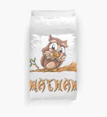 Nathan Owl Duvet Cover
