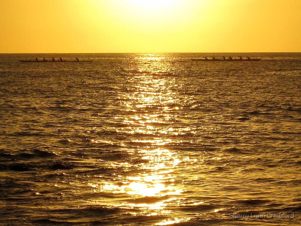 Sunset, Maui by Sherry Lynn Crawford