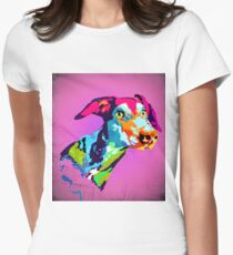 Dog  Women's Fitted T-Shirt