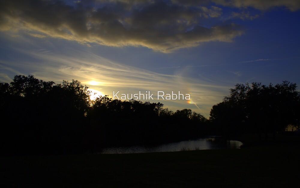 The sun and its reflections by Kaushik Rabha