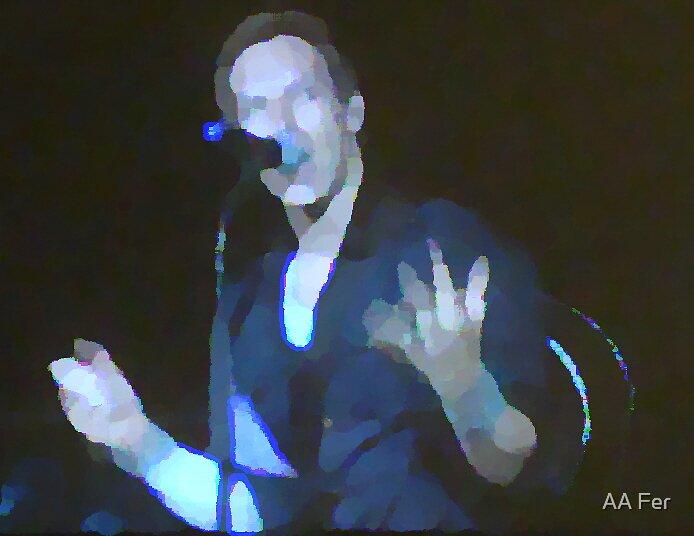 Chris Martin by AA Fer