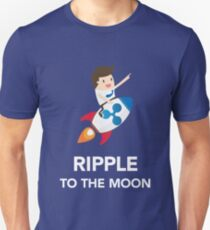 Ripple Coin To The Moon Unisex T-Shirt